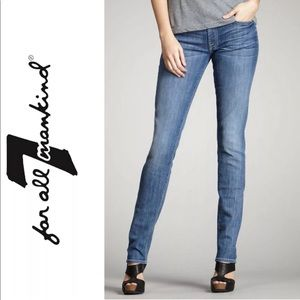 Seven 7 For All Mankind Jeans Roxanne Skinny $198